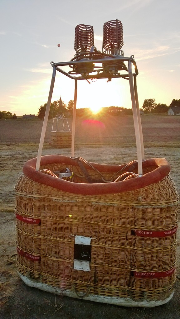 Basket and sun
